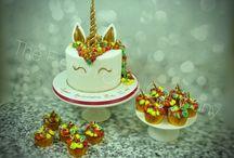 Gateau Anniversaire Licorne - Unicorn Cakes / Les gâteaux décorés avec des licornes sont à la mode! Unicorn cakes are in total fashion this year in Belgium Bruxelles - Belgique Commande en ligne possible et livraison dans toute la Belgique