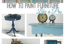 Furniture Up-Cycles & Repurpose