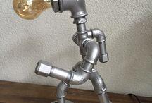 pipe lamp diy