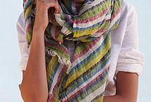 scarf  & pañuelo / Como llevar una bufanda o pañuelo con estilo