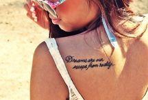 Cute shoulder tattoos for girl