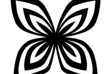 Black and White / Outline