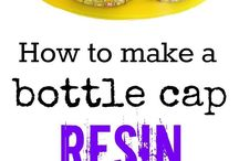 bottle cap resin