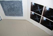 NOIR et BLANC..... / Leporello..... livre unique Michèle Riesenmey  les livres noir et blanc seront à l'exposition ' POINT DE RENCONTRE' au café des Négociants ( REZE.. NANTES) vernissage le 23 mars...