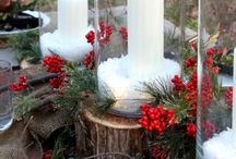 Christmas Decor Ideas / Great ideas to use for Christmas decorating.