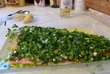 Something Fishy / Recipes for fishy things... like salmon, shrimp, cod, trout...