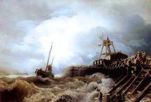 Malerei des 19. Jahrhunderts / Gemälde von Malern aus dem 19. Jahrhundert.