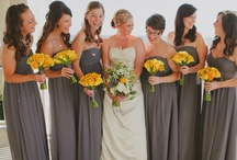 Grey & Yellow, Yellow & Gray / Flowers that compliment a grey and yellow color scheme for your wedding.