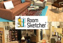 The Big Bang Theory / We love recreating Famous Floor Plans in 3D! For the 2014/2015 Season of The Big Bang Theory we made a 3D replica of the show's apartments! Tour the apartments in Live 3D and follow this board to catch season updates!               #TBBT #FamousFloorPlans #floorplan / by RoomSketcher
