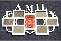 Фоторамка коллаж Family / Здесь Вы сможете ознакомится и купить рамки для фото family и фоторамки family.