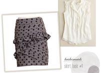 Bridesmaids clothing ideas