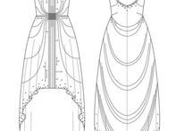 Desenho técnico de moda