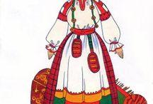 нижегородский костюм