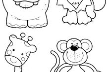 patrones dibujos infantiles