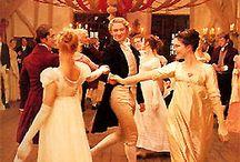 {Dancing} / Contra dance, waltz, folk dance, ballet, all the dances.