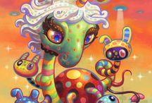 Yoko D'Holbachie's Psy Art