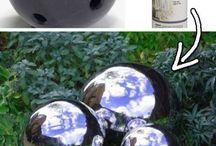 Spray painting Balls