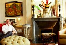 Jacques Grange / Work and projects of great interior designers Jacques Grange