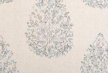 entryway/living room fabrics / by Caroline Swetenburg