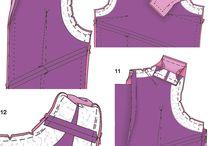 Tutoriais de costuras / Dicas sobre acabamento de roupas.