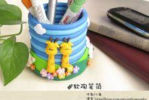 Polymer clay work