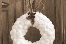 Ghirlande / Batuffoli di cotone