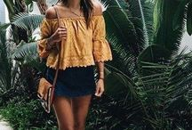 Vacation outfits/ tropical
