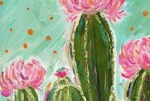 cuadros cactus