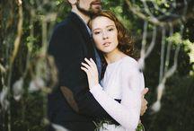 свадьба лес