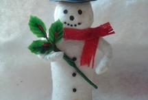 Winter / Sneeuwpop