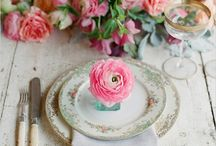 Tabletop / Settings, china and all that the dining table entails. / by Cheri Barner LaTorre