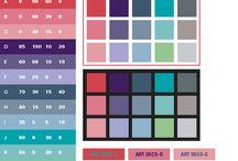 Web Design Colour Palettes