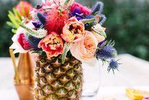 FLEURSPIRATION / Inspiration for wedding flowers for the Emily Rose Ink bride.