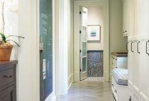Flooring / Tile, wood, marble, stone