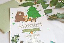 Fiesta Animales del bosque