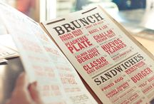 Menu Design / by Nathan Strange