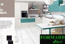 Formarredo Due - Cucine - Kitchens / La FORMARREDO DUE, vende cucine delle migliori marche. Tuttavia, grazie alla collaborazione con i propri falegnami e artigiani del legno,  offre anche arredamenti PERSONALIZZATI e mobili SU MISURA.