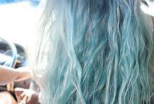 blond acier bleu