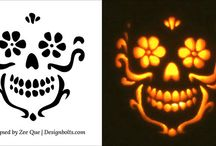 Pumpkin carvings stencils