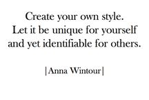 Quotes / Stylecab's favourite fashion quotes