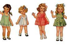 ♥ paper dolls