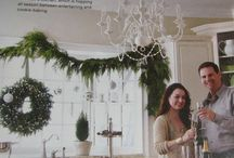 LCF Garland / Gorgeous fresh handcrafted garlands perfect for your home during the holiday season! Decorate on staircases, entryways, dining table, absolutely anywhere!