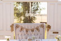 SCW Events / Events styled by the Simple Country Weddings team! Our lovely pieces in action!