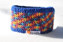 Arties Stirnbänder / Häkeln, Crochet, Stirnband, Headband, Bandeau, Freeform Crochet