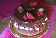 Le mie torte/My cakes / by Niki Costantini