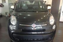 FIAT 500 L 1.3 MJ EASY (85 CV) € 18.900 / 06/2013 Diesel -Climatizzatore manuale -Cambio manuale-Chiusura centralizzata -1300 cm3 - Radio cd touch screen -5 porte - 6 airbag -Grigio scuro/Tetto bianco-Tessuto grigio