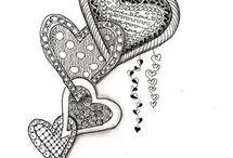 Doodle Hartjes