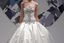 BLING it on / gowns that have a little extra sparkle