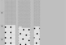 Wzory na sznur szydełkowo - koralikowy