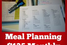 MEAL PLAN AND BUDGET
